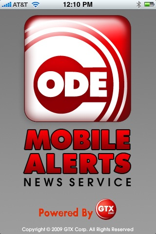 Code Mobile Alerts Available Now