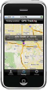 GPS Tracking App for iPhone