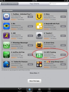 iTunes Top Grossing Apps