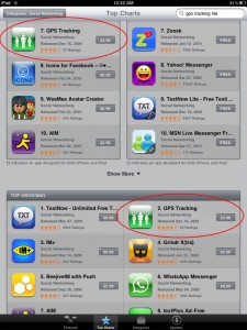 Top Grossing Apps on iTunes