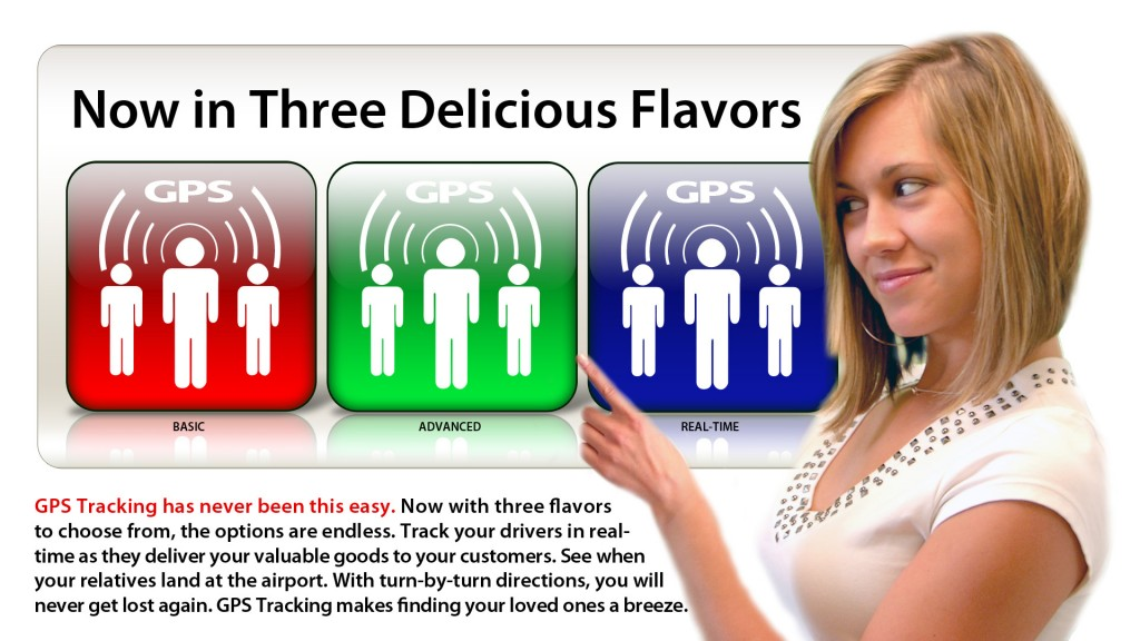 GPS Tracking now available in 3 delicious Flavors
