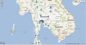 thailand tracking map